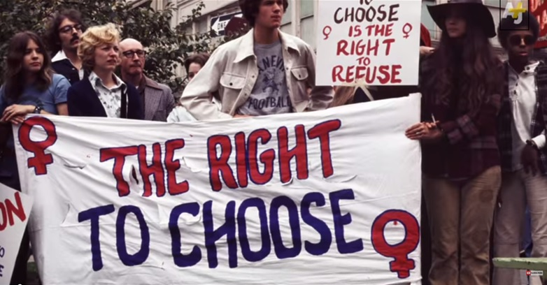 an overview of the controversial issue for the roe versus wade and the landmark of womens rights in